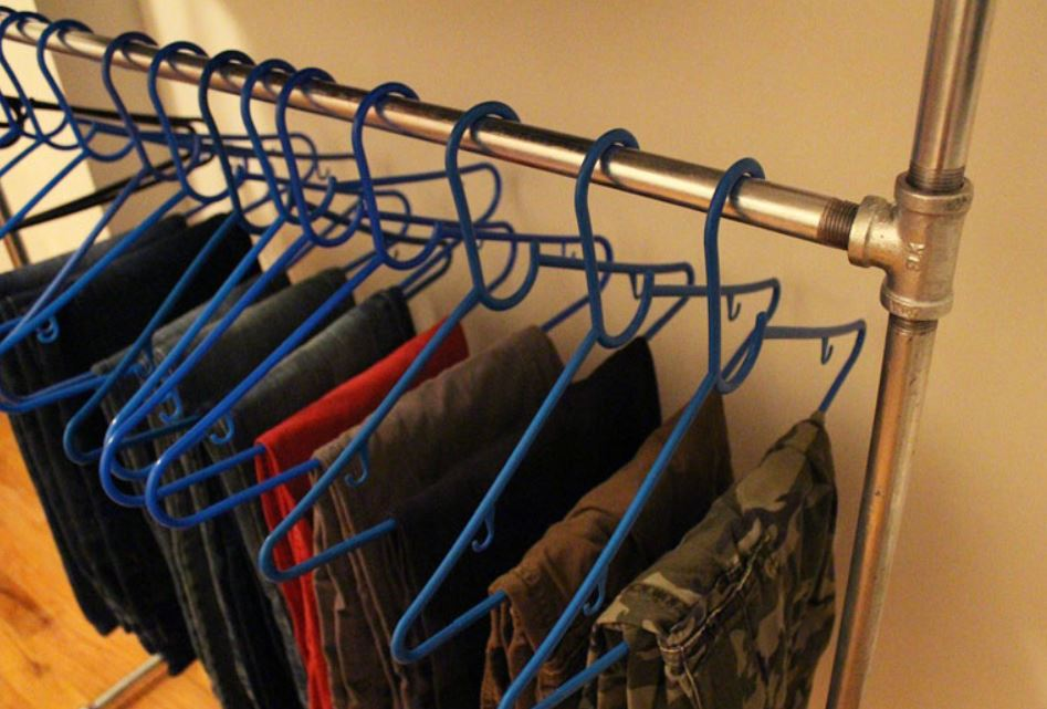 How To Make Pipe Clothing Rack