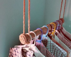 clothes rack for small laundry room