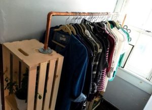 diy clothes storage ideas for small spaces