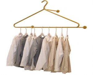 hanging clothes rack for small space