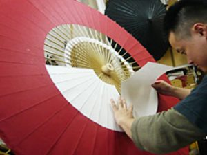 japanese umbrella design