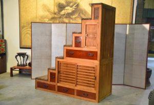 tansu step cabinet