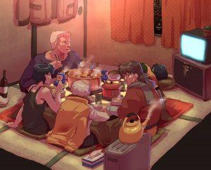kotatsu japanese heated table
