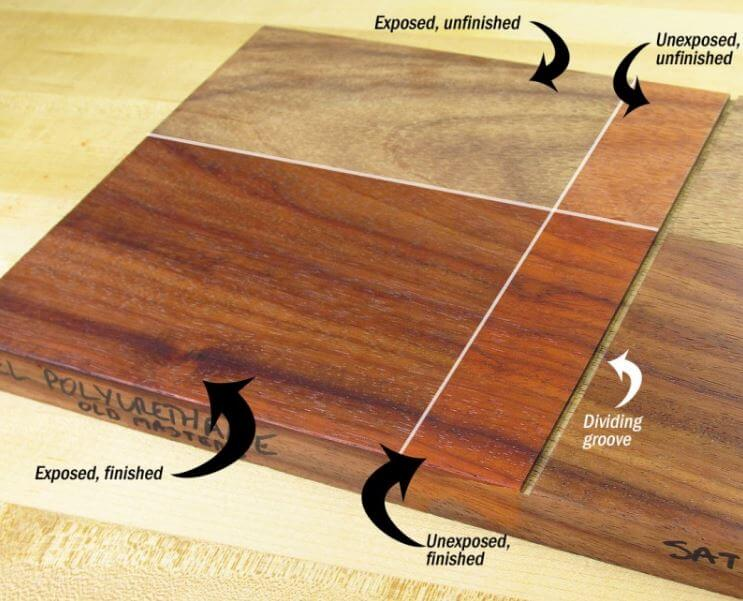 Finish For Wooden Surface