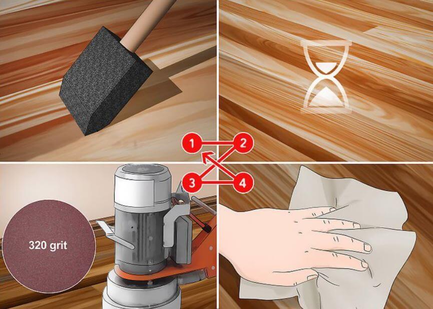apply water based polyurethane over oil based polyurethane