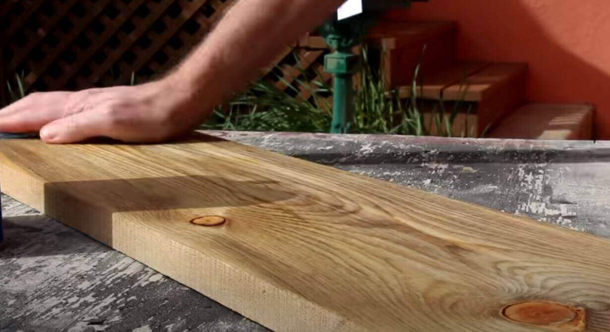 dry wood surface