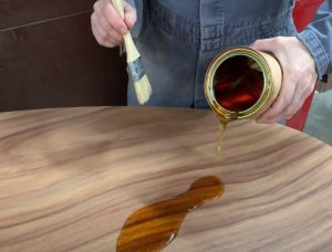 what is the best finish for a wood kitchen table