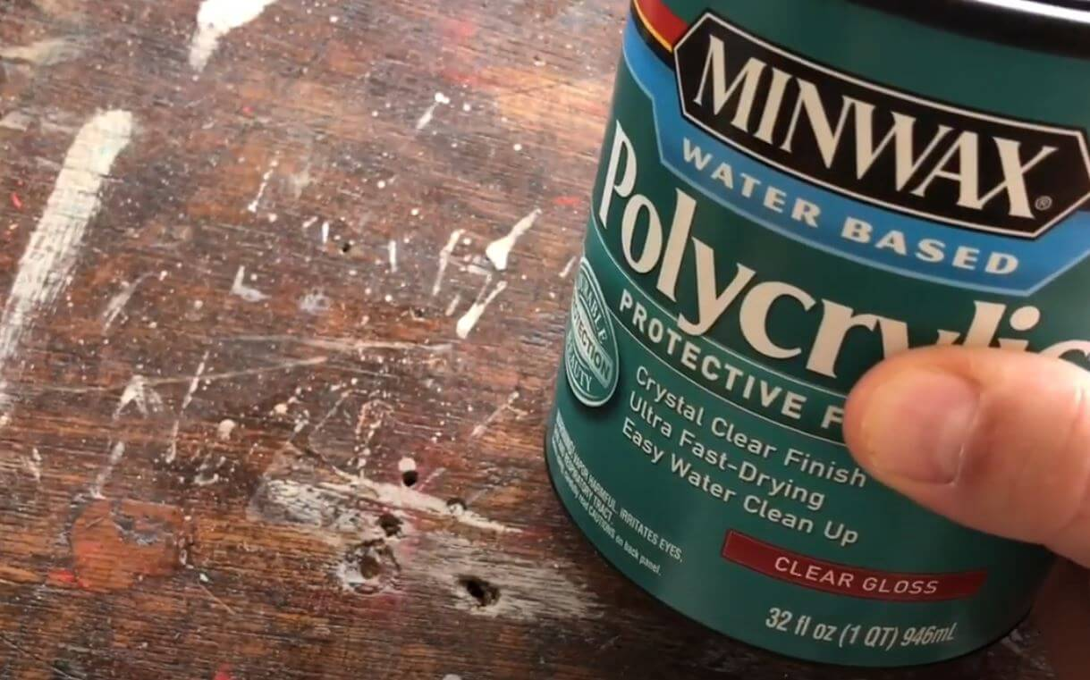 Can You Mix Wood Stain With Polyurethane