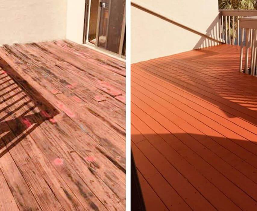 Do I Need To Remove All Old Stain Before Restaining a Deck