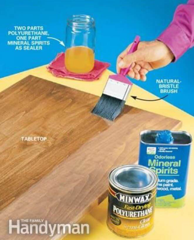 How To Keep Air Bubbles Out Of Polyurethane