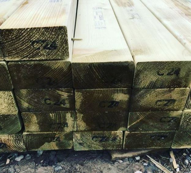 Treated Timber Cladding