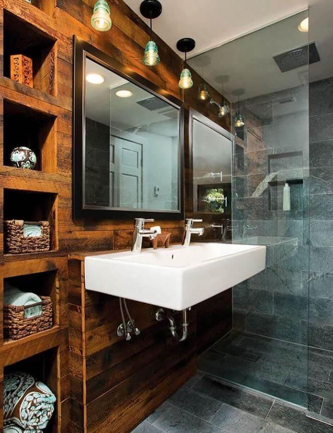 Waterproof Wood For Bathroom Walls