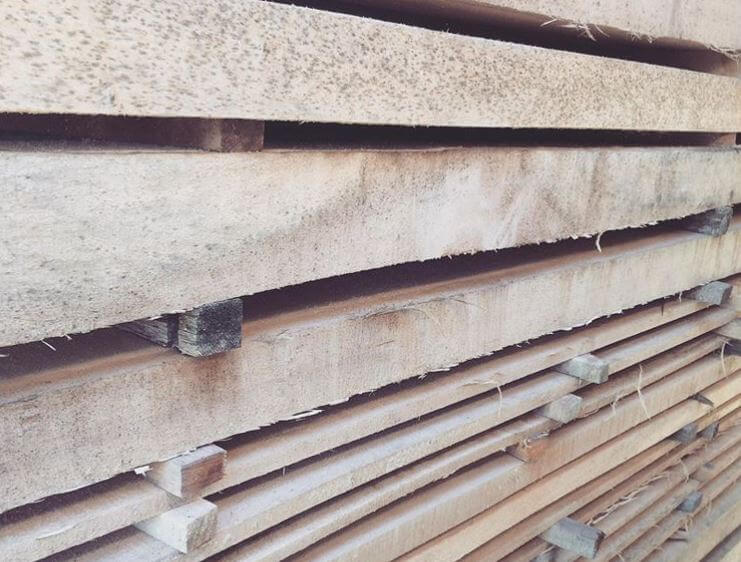 wood outdoor fence