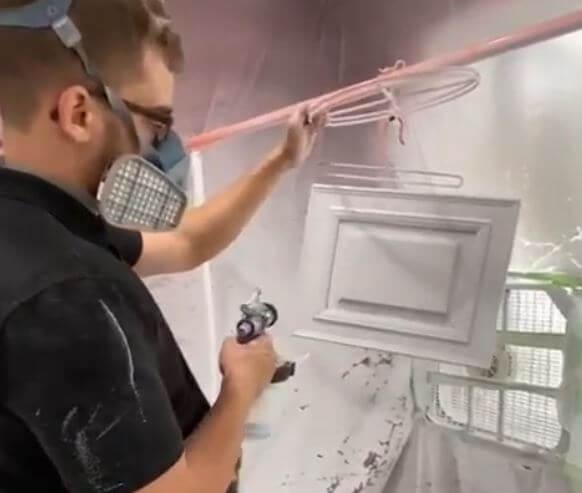 Hvlp Spray Gun For Wood Finishes