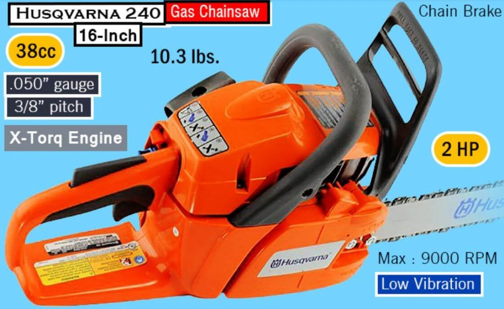 Parts For Husqvarna 240 Chainsaw