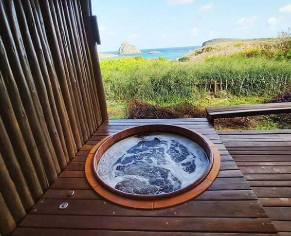 Japanese Ofuro Soaking Tub Outdoor