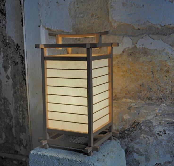Asian Paper Floor Lamp