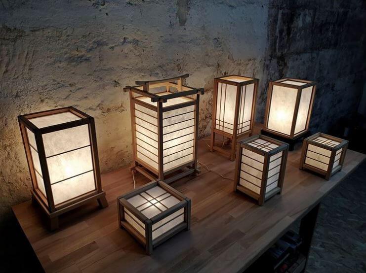 Floor Lamp Rice Paper Shade