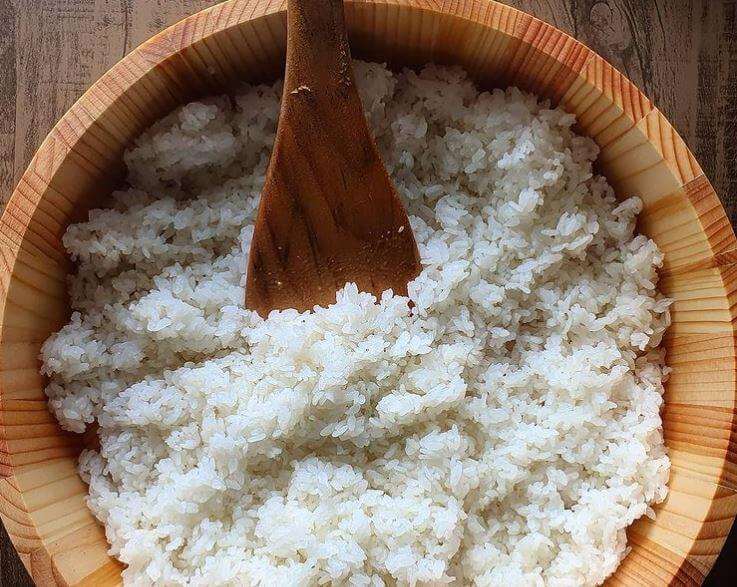 Hangiri Oke Wooden Sushi Rice Bowl